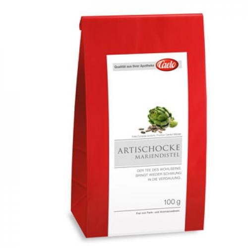 CAELO Artischocke Mariendistel Tee HV Packung 100 g
