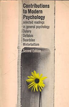 Paperback Contributions to Modern Psychology by Dulany D.E. etc. (1963-12-01) Paperback Book