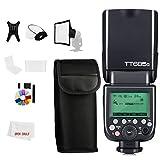 Godox Flash Speedlite TT685S 1 / 8000s HSS GN TTL receptor 4G compatible con Godox X Disparador para cámaras Sony A6000 / A6300 / A7S / A7R / A58 / A77M2 / A99M2 / RX10 a7777ll I