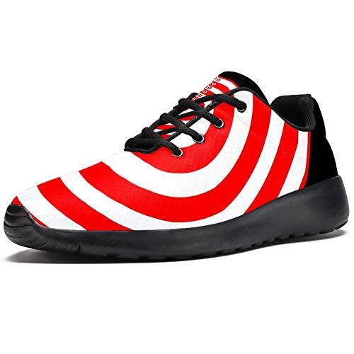 TIZORAX Laufschuhe für Damen, Dartscheibe, modische Sneakers, Mesh, atmungsaktiv, Laufen, Wandern, Tennisschuhe, Mehrfarbig - mehrfarbig - Größe: 37 EU