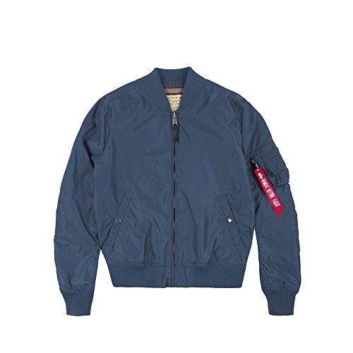 Alpha Industries MA-1 TT Jacke Blau 3XL
