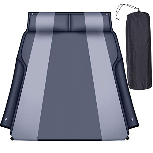 Heyoh Automatic SUV air Mattress, Self Inflating Sleeping pad for car Camping or Tent Camping,...