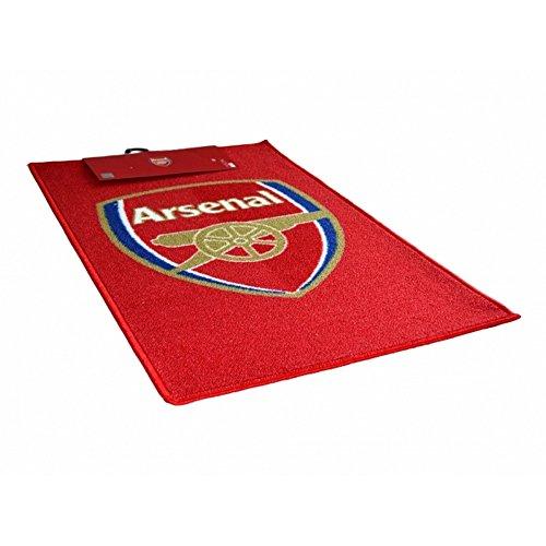 Arsenal Fc Offizieller Fussball Teppich Laufer Einheitsgrosse Rot Gold