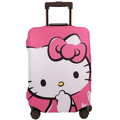 Funda protectora para equipaje de viaje de Hello Kitty, lavable, de 18 a 32 pulgadas