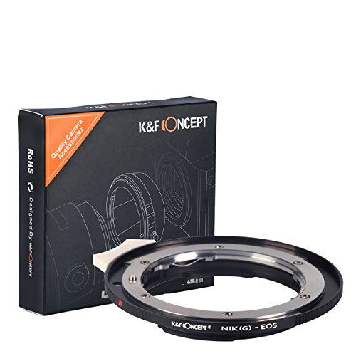 K&F Concept Nikon to EF Lens Ad…