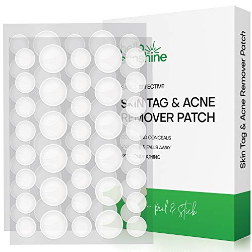 Skin Tag Remover Patches, Suitable for All Skin Types with Advanced and Newly Improved Formula, Covers and Conceals Tags, Dries Immediately and Fall Away