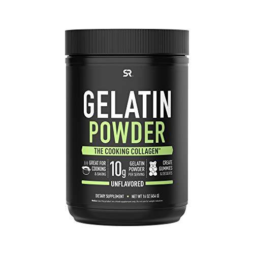 Gelatin Collagen Cooking Powder ~ Sourced from Pasture Raised,Grass-Fed Cows ~ Great for Cooking and Baking~ Certified Keto Friendly and Non-GMO