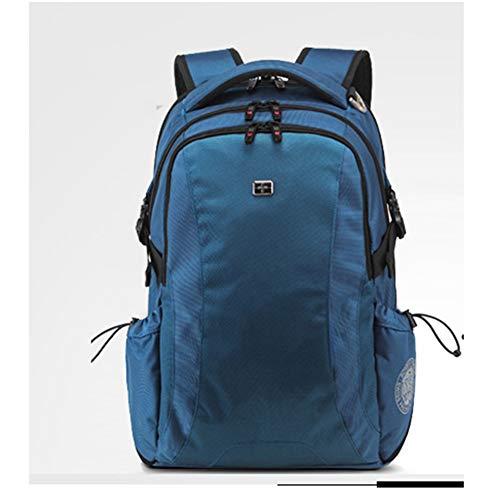 LXMJ Schweizer Taschenmesser Rucksack Männer Rucksack Weibliche Koreanische Business Computer Tasche Freizeit Reisetasche High School Student Tasche
