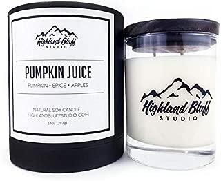 Highland Bluff Studio Pumpkin Juice Signature Series Candle