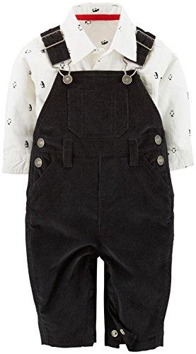 Carter's 2 teilig Latzhose Oberhemd Baby Größe 50/56 Junge Outfit Kleidung Boy 2 Teile US Size Newborn Cordhose