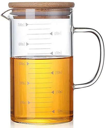 taza medidora de vidrio 500 ml fabricante AZSCYN