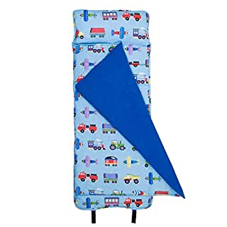 Wildkin Original Nap Mat with Pillow for Toddler Boys and Girls,Measures 50 x 20 x 1.5 Inches,Ideal for Daycare and Preschool,Mom's Choice Award Winner,BPA-Free,Olive Kids(Trains, Planes and Trucks) (B003F1FETS) | Amazon price tracker / tracking, Amazon price history charts, Amazon price watches, Amazon price drop alerts