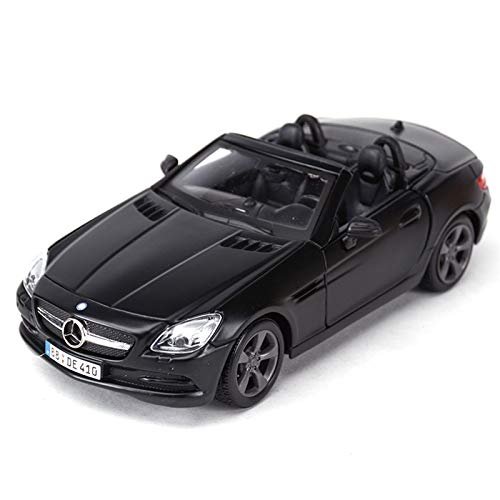 NMBE 1:24 para Mercedes AMG SLK-Class Coche Deportivo Estático Vehículos De Fundición Modelo Coleccionable Juguetes De Coche Modelo De Auto
