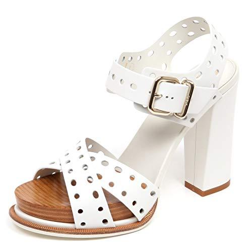 Tod's F3228 Sandalo Donna White Scarpe Sandal Shoe Woman [36]