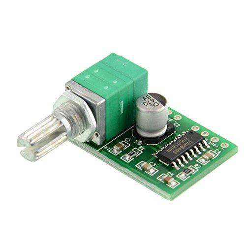 Demarkt PAM8403 Mini 5V Digitale Verstärkerplatine mit Schalter Potentiometer USB-Stromversorgung 2.5-5.5V