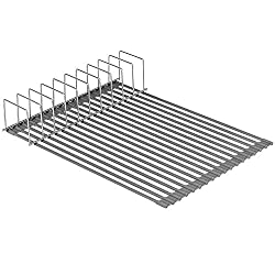 foldable dish rack for organizing your apartment kitchen
