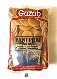 Gazab Panipuri (Golgappe) Non-Fried (Fry or Microwave) with Pani Puri Masala COMBO - 400 Grams