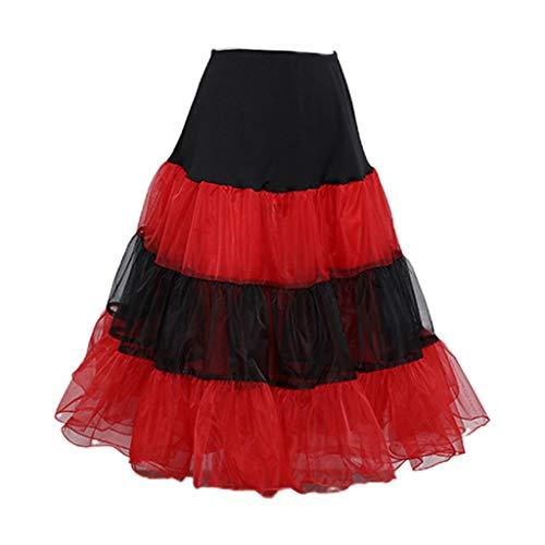 Saia tutu feminina em tule macio com listras de cor doce e babados