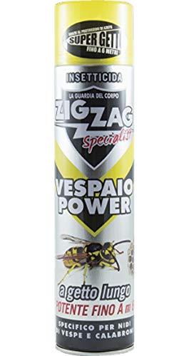 Zig Zag Specialist - Vespaio Power - Insetticida specifico per nidi di Vespe e Calabroni 600ml