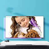WLWLEO Anti Blue Light Screen Protector Film for 32-75 Inch TV Monitor Anti Glare Filter Reduce Eye Fatigue,Eye Protection, Anti-Scratch Anti-Stain Film,32' 698×392mm