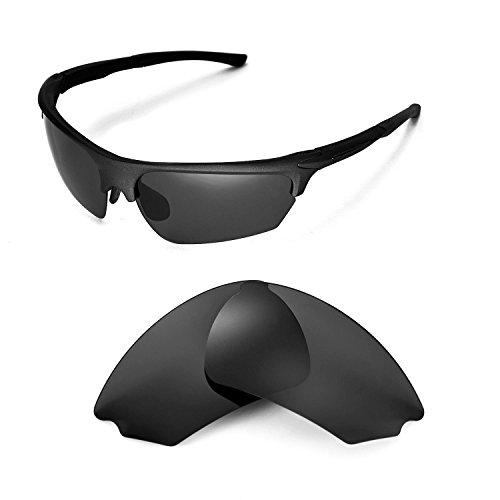Walleva Ersatzgläser für Rudy Project Noyz Sonnenbrille - Mehrfache Optionen (Schwarz - polarisiert)