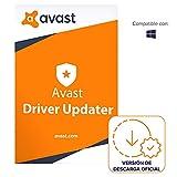 Avast Driver Updater - Actualiza y repara automáticamente los controladores del PC | 1 Dispositivo | 1 Año | PC | Código de activación PC enviado por email