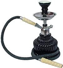 Designer Decorative Black Hookah Pot (QT) (16 Inches)