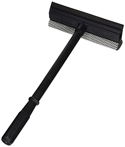 Black Duck Brand Window and Windshield Cleaning Sponge and Rubber Squeegee (1)