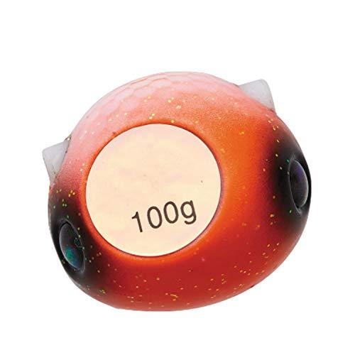 ダイワ(DAIWA) タイラバ 紅牙 ベイラバーフリーTG α ヘッド 120g 紅牙オレンジ ルアー