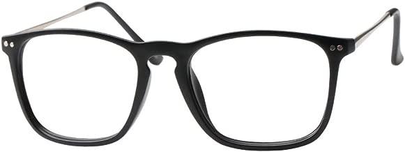 SOOLALA Designer Large Horn Rimmed Clear Lens Eyeglass Frame Reading Glasses