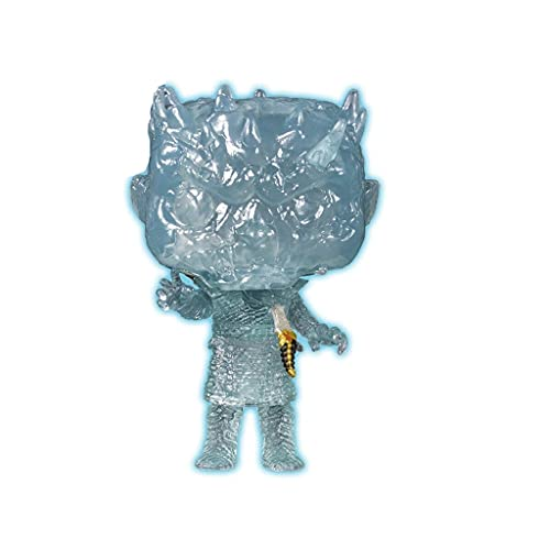 TN Studio Funko Pop Television : Game of Thrones - Night King ( HBO Dagger Glow Exclusive) 3.75inch Vinyl Gift for Fantasy Fans Chibi,10CM