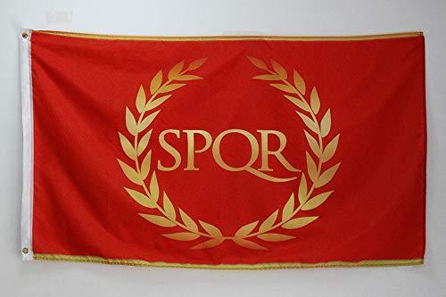 AZ FLAG Flagge RÖMISCHE KAISERZEIT 150x90cm - ROM Fahne 90 x 150 cm - flaggen Top Qualität