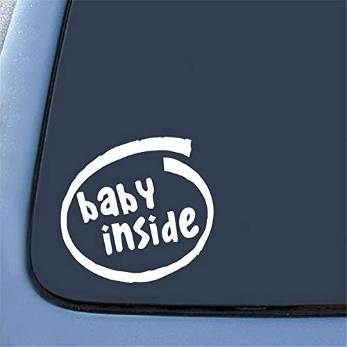 Autocollant de voiture autocollant de bébé à l'intérieur de la feuille d'autocollants boîte de tige de glissière avec corps de la marée Graffiti Toon autocollants