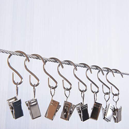 Morza 4PCS 3x3cm del Maletero del veh/ículo Neto Cierres Gancho de instalaci/ón Fijo autom/ático del Gancho del Metal del autom/óvil Percha