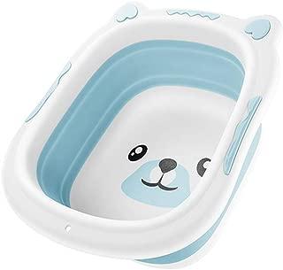 Portable Baby Washbasin Foldable Silicone Washbasin Foldable Travel Baby Care Cartoon Dog