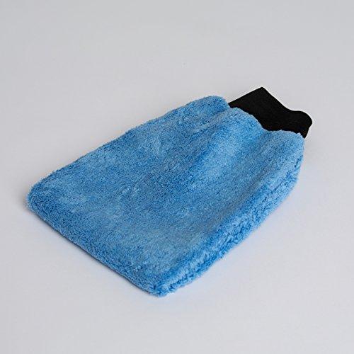 Microfibra Lavado Guante Guante de pulido con goma cintura alta calidad para Auto presupuesto baño aprox. 25x 18cm