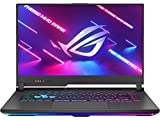 "ASUS ROG Strix G15 (2021) Gaming Laptop, 15.6"" 144Hz IPS Type FHD Display, NVIDIA GeForce RTX 3060 Laptop GPU, AMD Ryzen 9 5900HX, RGB Keyboard, Windows 10, 16GB RAM 