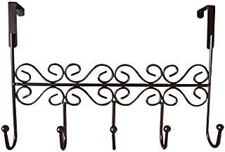 dream2life (sobre la puerta 5ganchos–decorativo percha para colgar la ropa–abrigo–sombrero cinturón–y más–con estilo Organizador para su hogar u oficina–Mejor Garantía de por vida