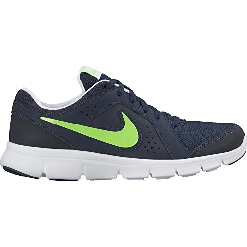Nike Flex Experience LTR (GS), Scarpe da Corsa Uomo, Nero Ossidiana/Verde Fluo/Bianco, 37.5 EU