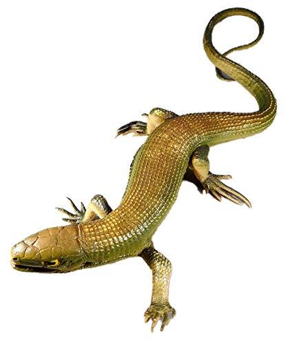 Lagarto 36 cm iguana Lizard Reptil personaje Animal Australia África decorativo GG 5742