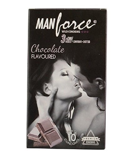 Manforce Chocolate Condoms pack of 10
