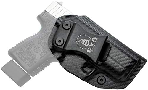 CYA Supply Co. Fits Kahr PM9 Inside Waistband Holster Concealed Carry IWB Veteran Owned Company (Carbon Fiber, 009- Kahr PM9)