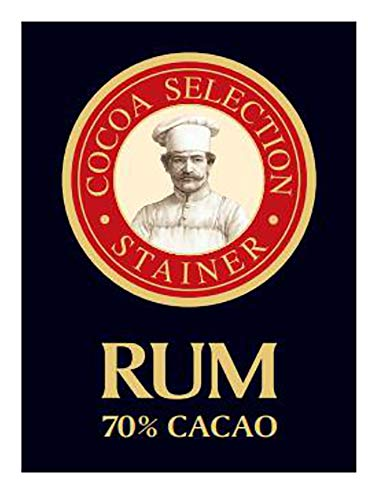 Andrea Stainer Tavoletta Di Cioccolato 70% Cacao Con Rum - 25 g