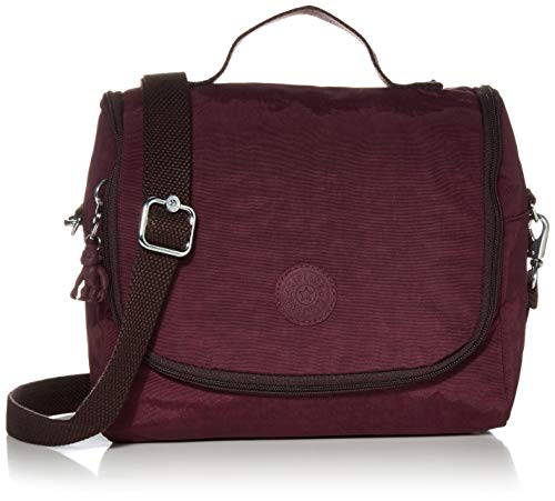 Kipling Kichirou Insulated Lunch Bag, Dark Plum