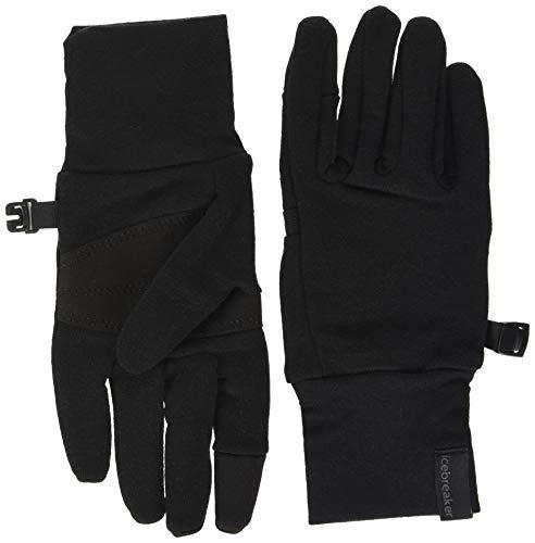 icebreaker Handschuhe Sierra Merino Gloves, Black, S, 104829