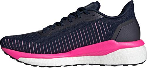 adidas Performance Solar Drive 19 Laufschuh Damen dunkelblau/pink, 4.5 UK - 37 1/3 EU - 6 US