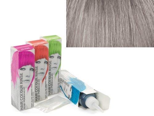 Stargazer Semi-Permanent Hair Colour Dye x 4 Packs Silver Look by Stargazer