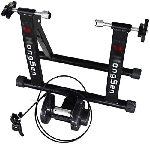 HYL Rodillo Bicicleta,Fluid Bike Trainer Stand Deportes Bicicletas Soporte de rack STOP...