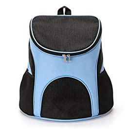 DLH Pet Backpack, Pet Travel Bag – Outing Carrying Bag – Foldable Pet Bag – Breathable Pet Backpack