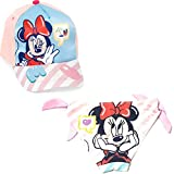 Bañador Minnie Mouse Culetín para Baño + Gorra Disney Minnie Mouse para niñas (4 años, Modelo 2)
